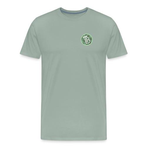 TurtleBeverage Patch Logo - Men's Premium T-Shirt