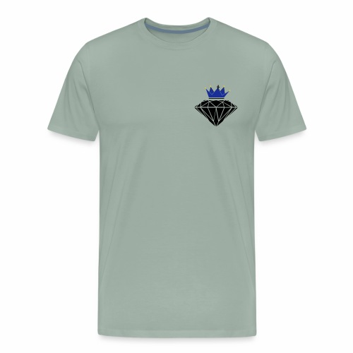 diamante corona - Men's Premium T-Shirt