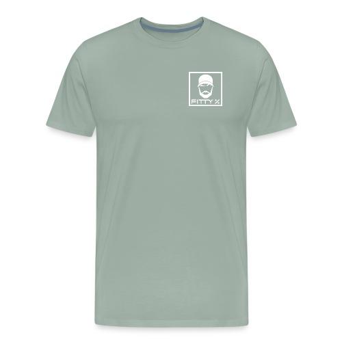 NEW wht - Men's Premium T-Shirt