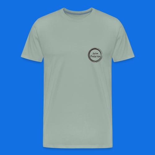 AxtonProduction Official logo design - Men's Premium T-Shirt