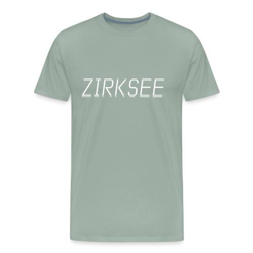 Zirksee White Thin - Men's Premium T-Shirt