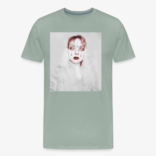 Zombie upside down - Men's Premium T-Shirt