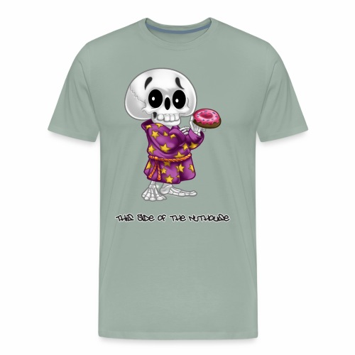 Lichs Love Donuts - This Side of the Nuthouse - Men's Premium T-Shirt