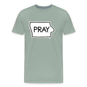 Pray Iowa - Men's Premium T-Shirt