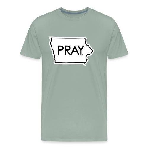 Pray Iowa - Men's Premium T-Shirt