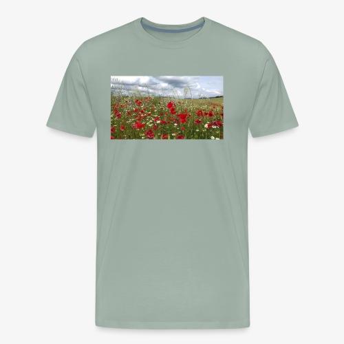 Poppy field forever - Men's Premium T-Shirt