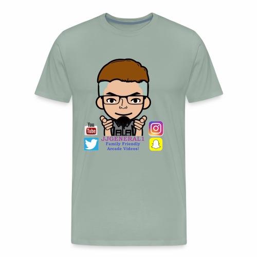 JJGeneral1 Logo - Men's Premium T-Shirt