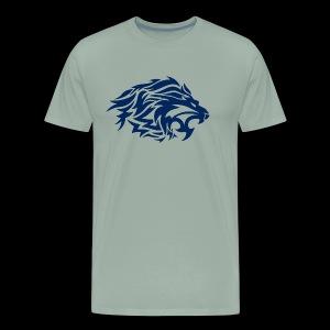 lion blue - Men's Premium T-Shirt