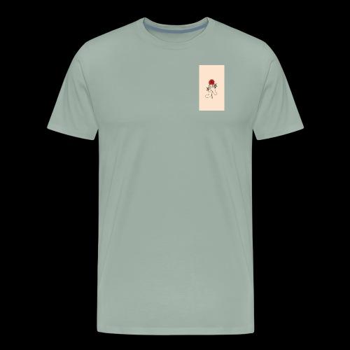 roses and hands - Men's Premium T-Shirt