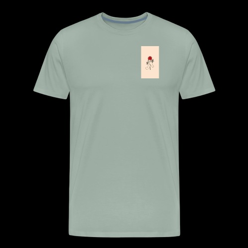 roses and hands - Men's Premium T-Shirt