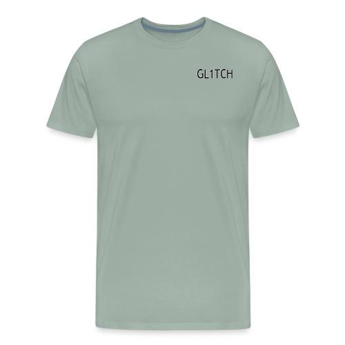 GL1TCH LOGO - Men's Premium T-Shirt