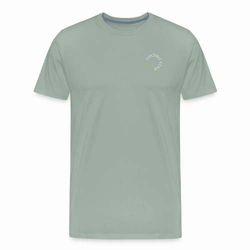 Winding Stair Farm Logo - white - Men's Premium T-Shirt