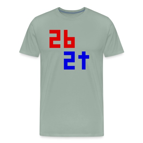 2b2t Logo - Men's Premium T-Shirt