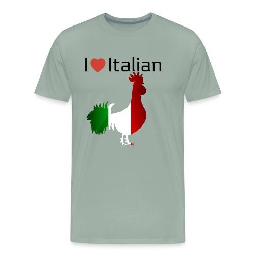 Italian Rooster - Men's Premium T-Shirt