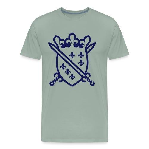 The Dragon Of Bosnia - Štit sa mačevima - Men's Premium T-Shirt