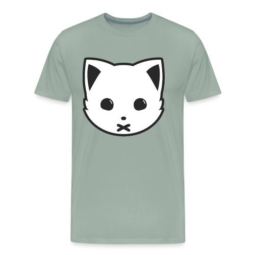 Meowx (Logo) - Men's Premium T-Shirt