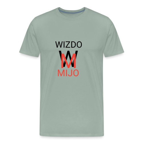 Wizdomijo mearch for YouTube - Men's Premium T-Shirt