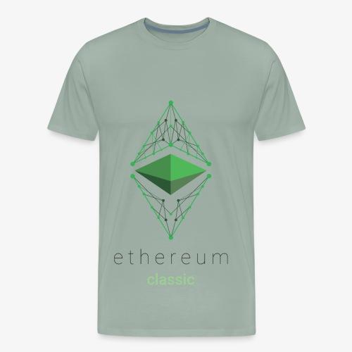 Ethereum Classic Logo - Men's Premium T-Shirt