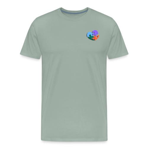 puzzle pieces - Men's Premium T-Shirt