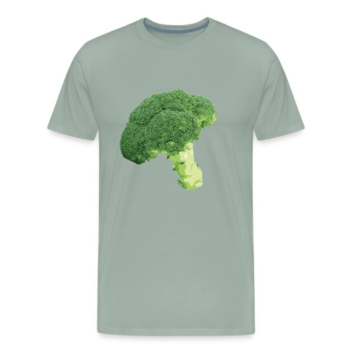 Photorealistic Green Broccoli - Men's Premium T-Shirt