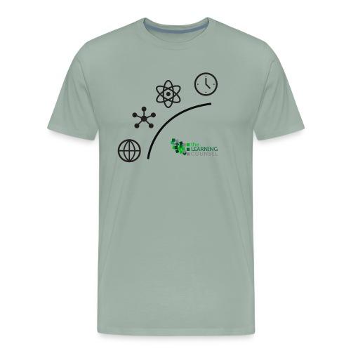 Matter Energy Space Time (Black) - Men's Premium T-Shirt