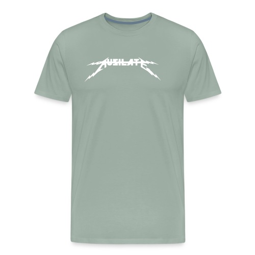 Ausilate Lightning Collection *White* - Men's Premium T-Shirt