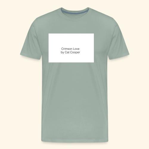 Crimson Love by Cat Cooper - Men's Premium T-Shirt