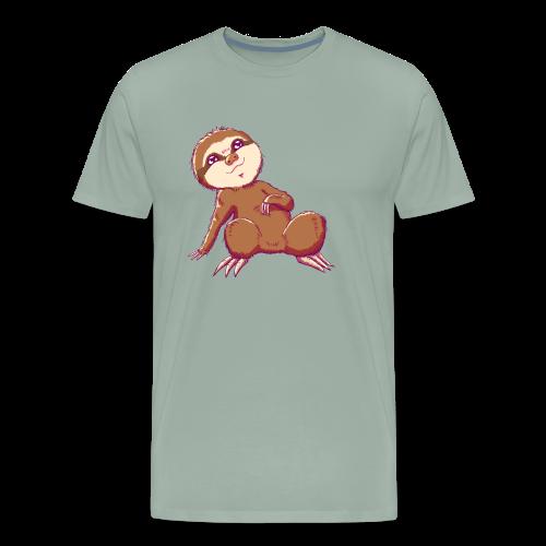 Baby Sloth - Lio - Men's Premium T-Shirt