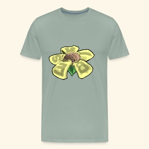 Vibes Flower by GVD - Men's Premium T-Shirt
