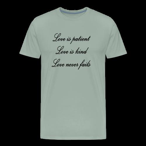 Patient love - Men's Premium T-Shirt