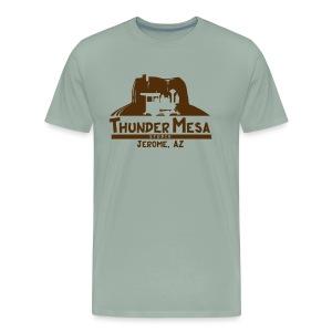Thunder Mesa Studio - Jerome, AZ - Men's Premium T-Shirt