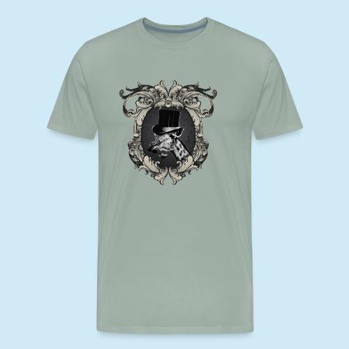 Fancy Giraffe - Men's Premium T-Shirt