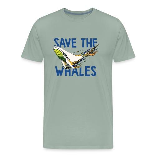 SAVE THE WHALES - Men's Premium T-Shirt