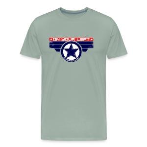 on your left - Men's Premium T-Shirt