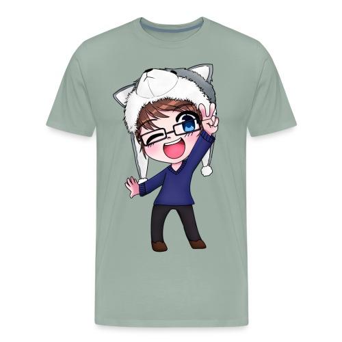 Aromi-Kun! OFFICIAL Logo - Men's Premium T-Shirt