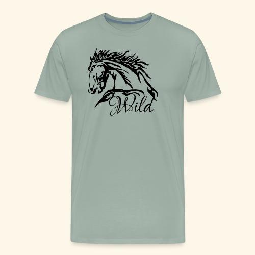 Wild As The Wind 2 - Siota - Men's Premium T-Shirt