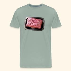 Vegan Fight Club Soap - Men's Premium T-Shirt