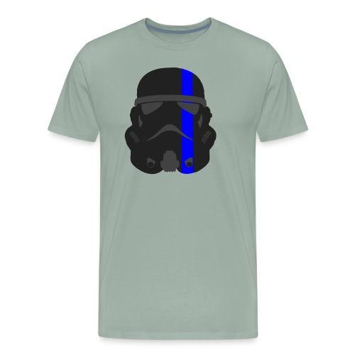 Thin Blue Line - Storm Trooper - Men's Premium T-Shirt
