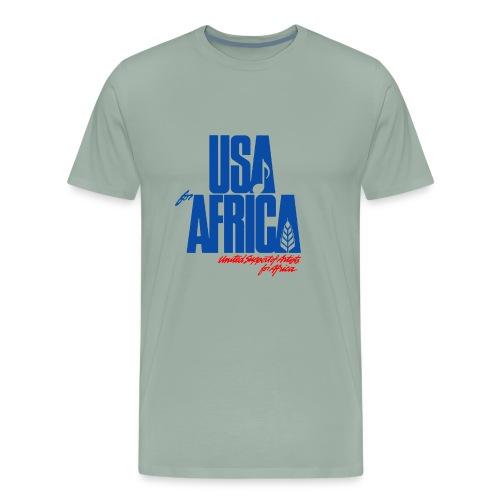 USA for africa merch - Men's Premium T-Shirt
