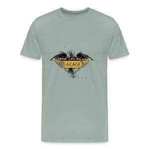Old School Garage 002 - Men's Premium T-Shirt