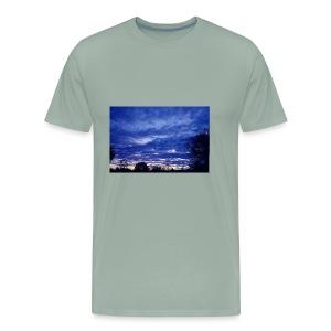 SunsetBlue - Men's Premium T-Shirt
