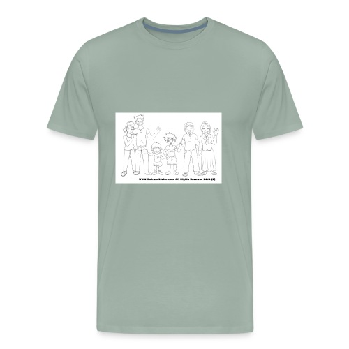 The Extreme Dieters after the Diet - Much Love - Men's Premium T-Shirt