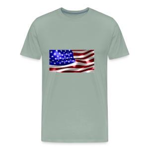 USA Flag - Men's Premium T-Shirt