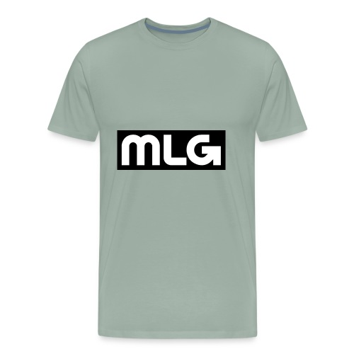MLG_GOD sweater - Men's Premium T-Shirt