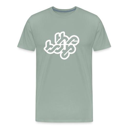 The Boys official logo - white - Men's Premium T-Shirt