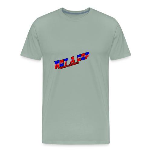 notacopredblue - Men's Premium T-Shirt