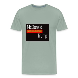 Donald Trump - McDonald Trump - Men's Premium T-Shirt