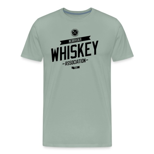 Tilted Whiskey distressed - Men's Premium T-Shirt