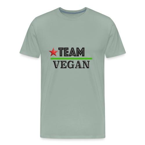 TEAM VEGAN - Men's Premium T-Shirt