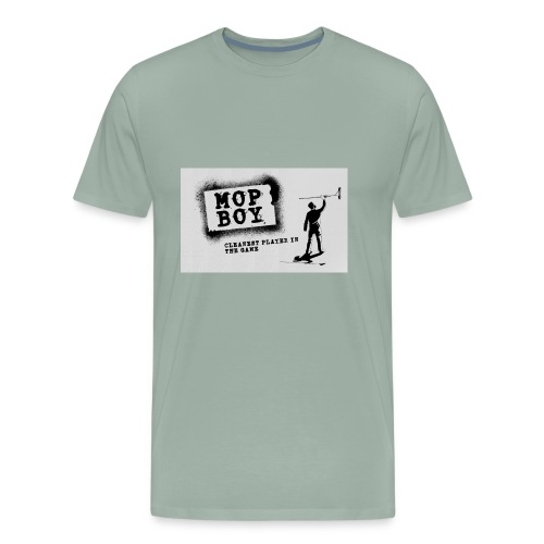 Cleanest Player White - Men's Premium T-Shirt